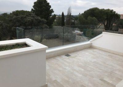 Barandilla Q-railing exterior - Las Rozas