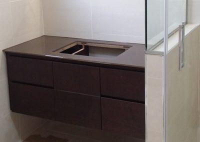 Encimera lavabo en RAL