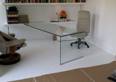 Mesa en vidrio templado 19mm