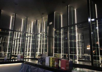Barra de bar en club privado - Capitan Haya