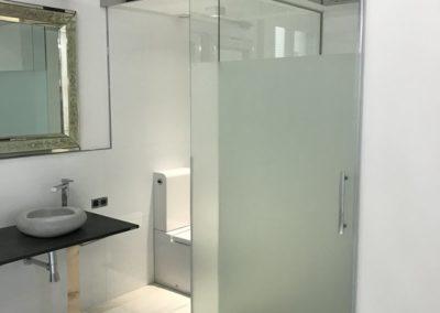 Separación en baño sistema de Saheco - Calle Toledo. Madrid