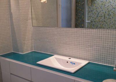 Encimera lavabo en RAL - Madrid