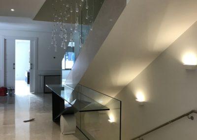 Barandilla Q-railing interior - Las Rozas